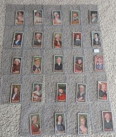 John Player & Sons Cigarette Cards 1933 Boy Scout & Girl Guide Series Lot of 28
