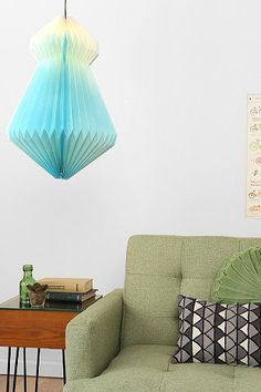 Fade Out Paper Lantern by Urban Outfitters