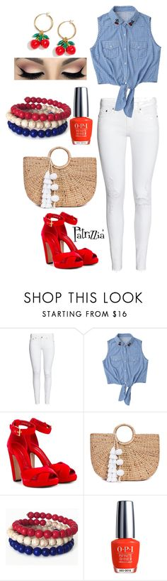 """Patrizzia08.07.2017a"" by patrizzia on Polyvore featuring H&M, Alexander McQueen, JADE TRIBE, OPI, J.Crew and patrizziapolyvore"