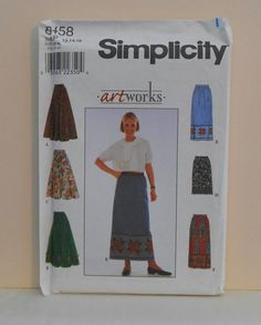 Women's Skirt in Length Variations Size 121416 UNCUT by filecutter, $4.75