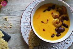 Süßkartoffel-Möhren Suppe mit Garnelen und roten Chili-Bohnen || Auf der Suche nach DEM Erkältungskiller