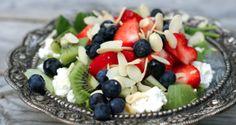 Sommersalat med bær – Berit Nordstrand