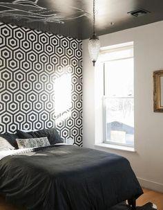 stencil para pared para imprimir diseño geometrico - Buscar con Google