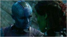 'Guardianes de la Galaxia Vol. 2': Karen Gillan adelanta que la secuela explorará la relación entre Nébula y Gamora