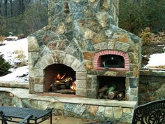 Image result for pizza oven backyard