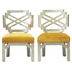 1stdibs - Pair of chairs by James Mont explore items from 1,700  global dealers at 1stdibs.com