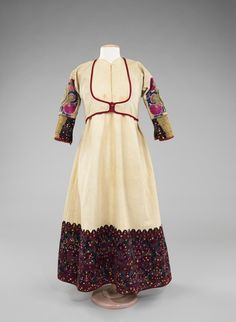 Albanian ensemble... looks like the dress I had to wear for my ethnic dance troupe!