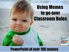 We just can't stop added new memes! Now over 100 classroom rules for teachers!