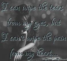 ...a heart's pain.