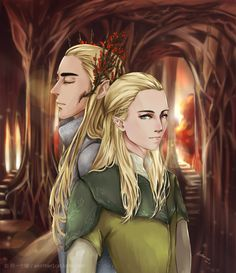 Tales of Mirkwood - Father and son in sigun-i-loki.tumblr