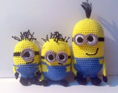 Free Pattern, Create your own Minion Army! crochet