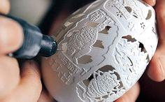 yumurta-oyma-sanati-yumurta-susleme-sanati-yumurta-boyama Tattoos, Ornament, Design, Garnishing, Wood Carvings, Eggs, Dekoration, Ideas, Tatuajes