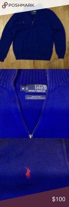 Ralph Lauren Halfzip Pullover Perfect condition. Vintage Ralph Lauren Ralph Lauren Sweaters Zip Up