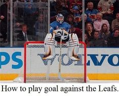 TORONTO MAPLE LEAFS: no wonder the have only won 6 games this season :p