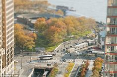 Battery Park City: The southern end of Manhattan becomes a toy world