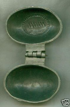 Pewter Ice Cream Mold