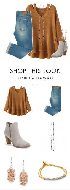 """""""feelin good, living better"""" by kaley-ii ❤ liked on Polyvore featuring WithChic, Cole Haan, Kendra Scott and Astley Clarke"""