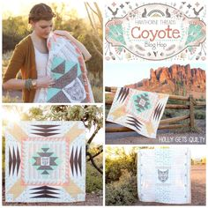 Holly Gets Quilty - Coyote Blog Hop www.hollygetsquilty.com