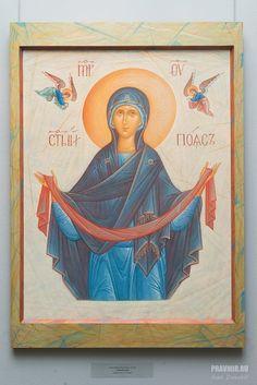DZH_1923 Roman Church, Blessed Mother Mary, Orthodox Christianity, Orthodox Icons, Sacred Art, Catholic, Religion, Symbols, God