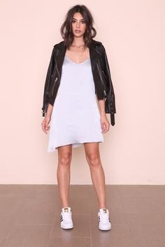 Silver Lining Slip Dress - FINAL SALE | SHOPLUNAB