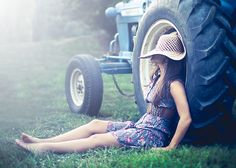 Love tractors and other farm machinery in photos