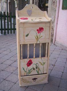 Huche à pain - Photo de Meubles peints - aquareve.décors et meubles peints