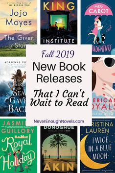 New Book Releases I Can't Wait to Read in 2019 – Never Enough Novels Upcoming Fall 2019 New Release Books that I can't wait to read! These 2019 new releases are the most anticipated books coming out this fall. Ya Books, Book Club Books, Great Books, Book Lists, Teen Books, Reading Lists, Books For Fall, Good Books To Read, Books To Read For Women