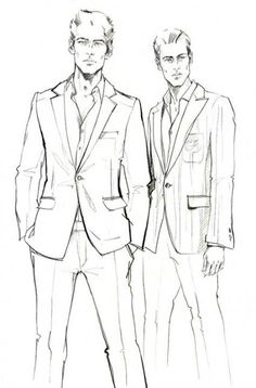Fashion illustration sketches, man illustration, fashion design sketches, f Fashion Illustration Sketches, Illustration Mode, Fashion Sketchbook, Fashion Design Sketches, Drawing Fashion, Trendy Fashion, Men's Fashion, Fashion Ideas, Fashion Menswear