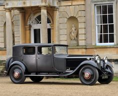 A 1929 Rolls-Royce 40/50hp Phantom II Weymann Sports Saloon, reputedly the last model that the marques co-founder Henry Royce designed himself, is one of the highlights of the Collectors Motor Cars and Automobilia sale at Bonhams