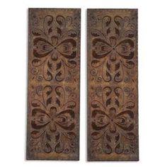 Uttermost Alternative Wall Decor Alexia Panels Set of 2 - 13643