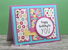Welcome to Part Nine in my newest 6x6 Series. I'm using Doodlebug Design's Cream & Sugar collection to make cards using my 6x6 Paper Pa...