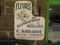 France. Flowershop.