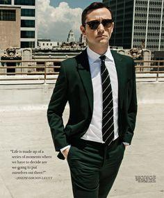 Joseph Gordon Levitt Suits Up for Gotham Cover Shoot
