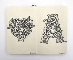 75 Exceptional Moleskine Notebook Artworks | Webdesigner Depot