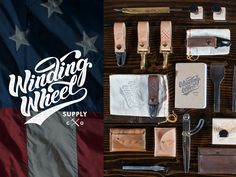 Dribbble - Winding Wheel Supply Co by Nicholas D'Amico