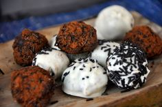 White Chocolate & Nutella Truffles with a hint of chilli