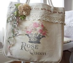 Tote bag for rosarians.