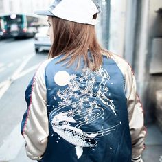 Bomber jacket goals! The extra embroidery has such a vintage edge #AsSeenOnMe