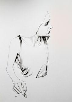 On a très peu de détails sur le parcours et le travail de Caroline Morin, dessinatrice française habitant à Nantes. Elle dessine principalementpour le mil