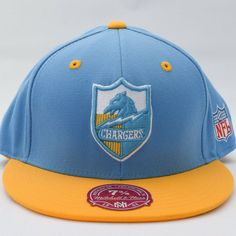 San Diego Chargers NFL Football Fitted Flatbill Cap 7 3 8