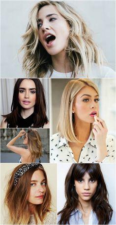 Ideias para mudar o visual: Modernizando os cabelos com corte no ombro.
