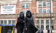 The Guerrilla Girls Are Helping Museums Contend With Read Their Proposed Chuck Close Wall Labels Here The feminist collective shows how to call out—or gloss over—accusations against an artist. Guerrilla Girls, Banksy, Chuck Close Portraits, Art Assignments, Girls Ask, Galleries In London, Feminist Art, Cultura Pop, Museum Collection