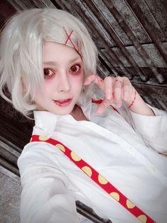 Juuzou Suzuya  Tokyo Ghoul  Cosplayer chiinejime  #tokyoghoul #uta #Juuzoo #juuzousuzuya #kenkaneki #kanekiken #toukakirishima #touka #animeboy #mangaboy Juuzou Suzuya, Manga Boy, Best Cosplay, Tokyo Ghoul
