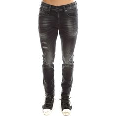R13 Skate Jean R13 ($395) ❤ liked on Polyvore featuring men's fashion, men's clothing, men's jeans, designers, home, men's, r13, mens ripped skinny jeans, mens distressed skinny jeans and mens zipper jeans