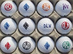 Wonderful Finding The Perfect Golf Birthday Gift Ideas. Blazing Finding The Perfect Golf Birthday Gift Ideas. Holiday Gift Guide, Holiday Gifts, Christmas Gifts, Gifts For Dad, Great Gifts, Golf Ball Crafts, Perfect Golf, Golf Gifts, Golf Bags