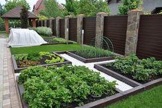 На площади 10 соток можно с легкостью уместить зону отдыха и сад или огород
