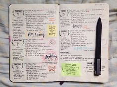 joyful-echoes:   last week's bullet journal... - The Organised Student