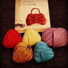 Small Bags, Twine, Fashion Bags, Hand Weaving, Handbags, Accessories, Design, Bags, Manualidades