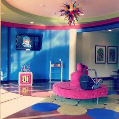 Pediatrician's office? So cool.