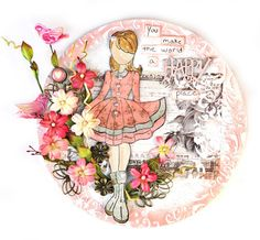 Julie Nutting Doll Stamp : Gallery : A Cherry On Top